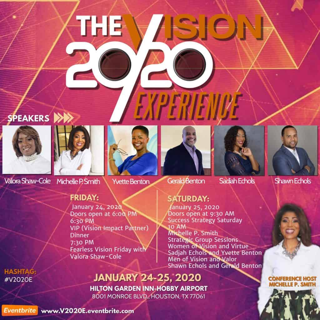 The Vision 20/20 Experience conference in Houston, TX